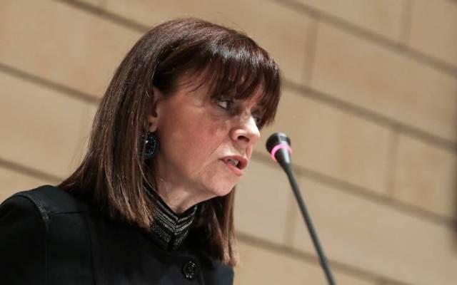 Πρόεδρος της Δημοκρατίας με 261 ψήφους η Αικατερίνη Σακελλαροπούλου