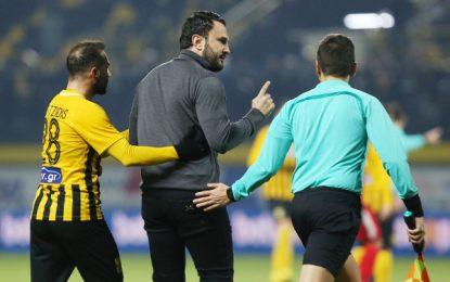Εκτός εαυτού ο Καρυπίδης για το γκολ – οφσαιντ της Ξάνθης – Ξέσπασε στους διαιτητές