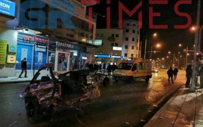 Πανικός στην Θεσσαλονίκη! Καταδίωξη διακινητή μεταναστών που έπεσε πάνω σε Ι.Χ(Βίντεο)