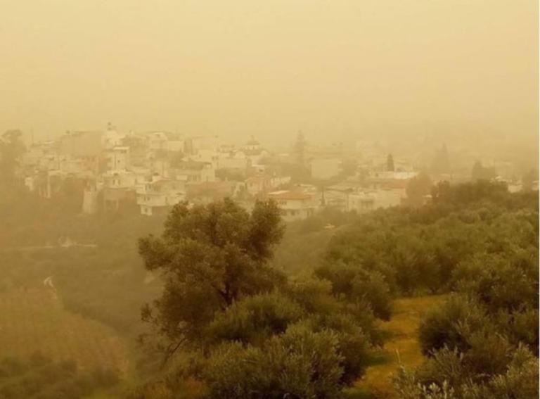 Συννεφιασμένος ο καιρός σήμερα -Αφρικανική σκόνη και τοπικές βροχές