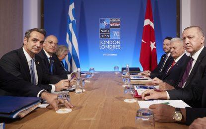 """Τσαβούσογλου: Ο Ερντογάν είπε στον Μητσοτάκη """"να μάθετε να μοιράζεστε στην ανατολική Μεσόγειο"""""""