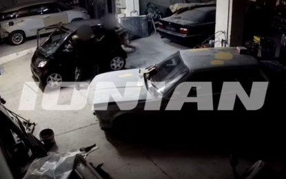 Βίντεο-Σοκ από τη δολοφονία του 41χρονου σε φανοποιείο στην Πάτρα