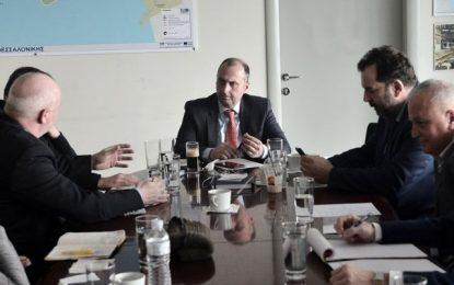Παρουσία του Γ.Γ. Υποδομών η σύσκεψη ΑΤΤΙΚΟ ΜΕΤΡΟ – Ο.Σ.Ε.Θ.