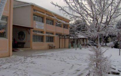 Ποια σχολεία θα παραμείνουν κλειστά στην Κ. Μακεδονία – Πενήντα μηχανήματα της ΠΚΜ στους δρόμους