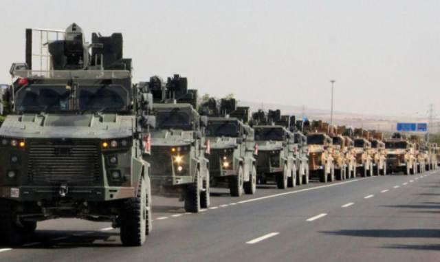 Δυνάμεις του τουρκικού στρατού αποσύρονται από τον Έβρο για να ενισχύσουν το μέτωπο στη Συρία!