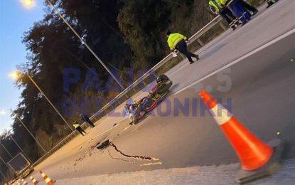 Συγκλονίζουν οι εικόνες από τροχαίο δυστύχημα στο Δερβένι – Νεκρός ο οδηγός της μοτοσυκλέτας (Εικόνες + Βίντεο))
