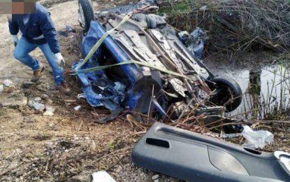 Νεκρός 40χρονος σε τροχαίο στην Εθνική Οδό Πρέβεζας-Ιωαννίνων -Διαλύθηκε το ΙΧ (Εικόνες)