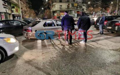 Θεσσαλονίκη: Πήρε το παιδί του και άρχισε να τρέχει! Σκηνές απείρου κάλλους σε τροχαίο(Βίντεο)