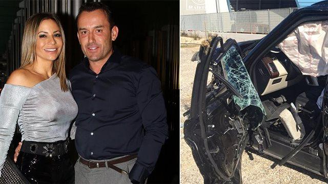 Σοβαρό τροχαίο για τον Mr. Ζαγόρι: «Θέλημα Θεού ότι επιζήσαμε!» (Εικόνες)