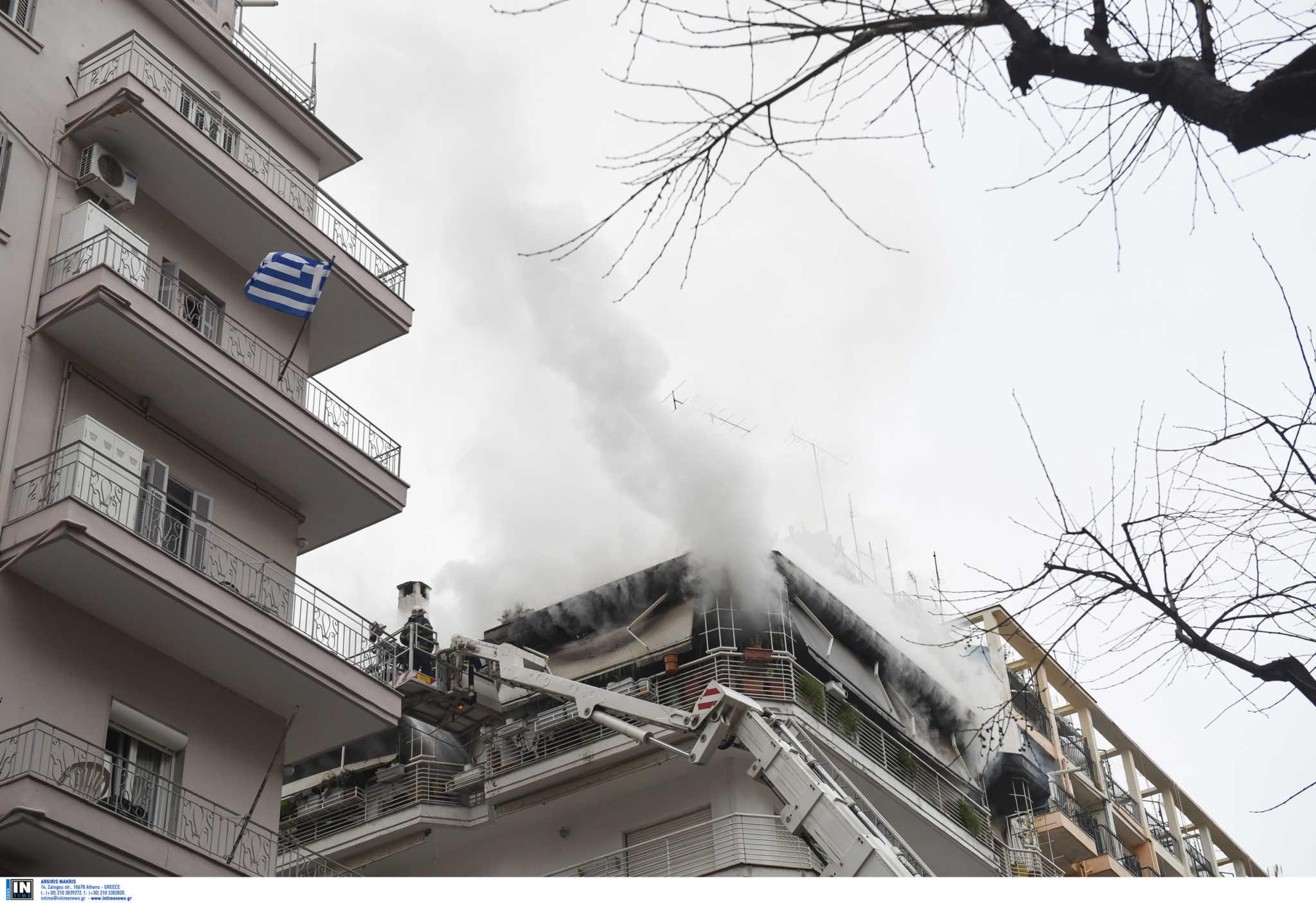 Τραγωδία στη Θεσσαλονίκη: Νεκρό ηλικιωμένο ζευγάρι από τη φωτιά σε διαμέρισμα