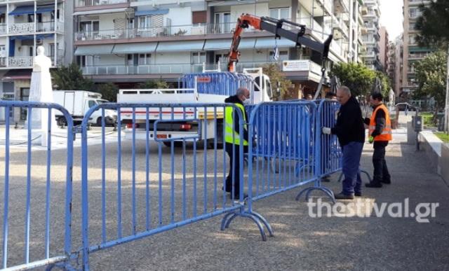 Θεσσαλονίκη: Κάγκελα παντού στην παραλία! Κλείνει με σχοινιά και 400 σιδερένια κιγκλιδώματα(Βίντεο)