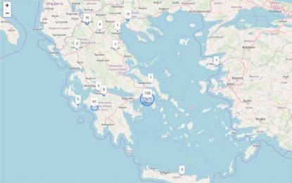 Ο κορονοϊός στην Ελλάδα σε… real time- Ο live χάρτης με τα κρούσματα