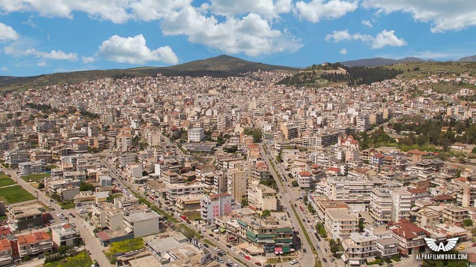 Βίντεο που κόβει την ανάσα: Έρημη πόλη φαίνεται από ψηλά η Λαμία