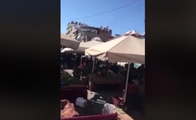 """Κορονοϊός: Τσαμπουκάς σε λαϊκή-""""Ρε μαλ@κες. Θα πεθάνετε ρε""""(Βίντεο)"""