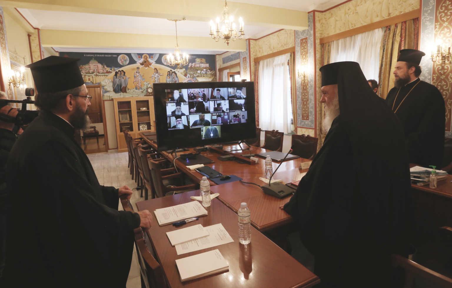 Ιερά Σύνοδος: Χωρίς πιστούς η Θεία Λειτουργία την Μεγάλη Εβδομάδα και Ανάσταση… ένα μήνα μετά