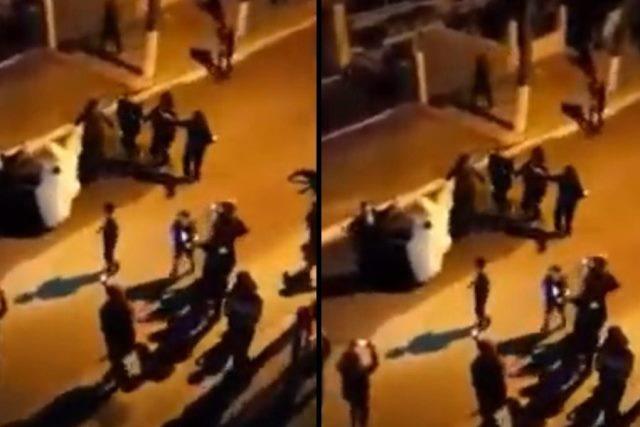 Σέρρες: Μασκαρεύτηκαν και βγήκαν στους δρόμους για να ξορκίσουν την ρουτίνα(Βίντεο)