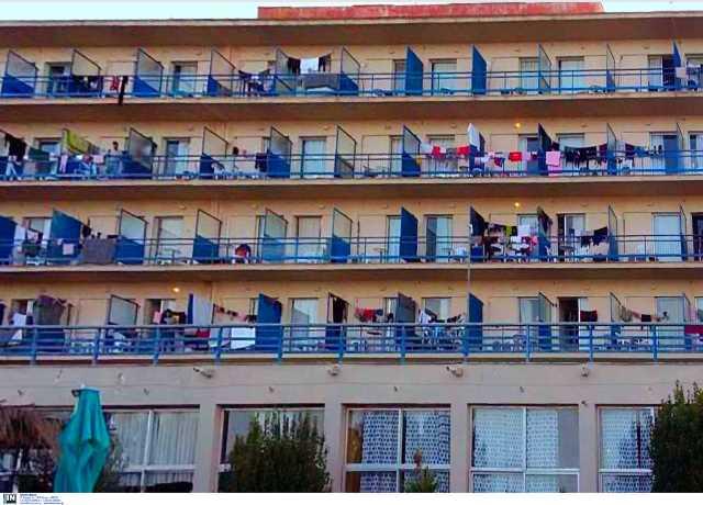 150 κρούσματα κορονοϊού στην δομή μεταναστών στο Κρανίδι – Επί τόπου ο Χαρδαλιάς