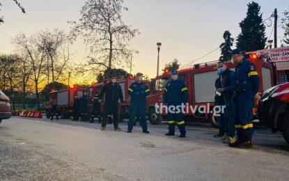 Στιγμές συγκίνησης στο ΑΧΕΠΑ: Πυροσβέστες χειροκρότησαν γιατρούς και νοσηλευτές (Βίντεο)