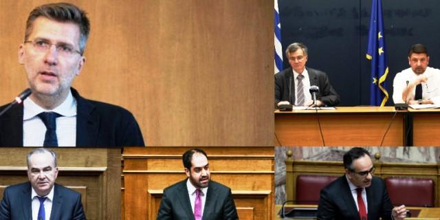Αρση μέτρων live: Oι ανακοινώσεις των 6 υφυπουργών και του Σωτήρη Τσιόδρα