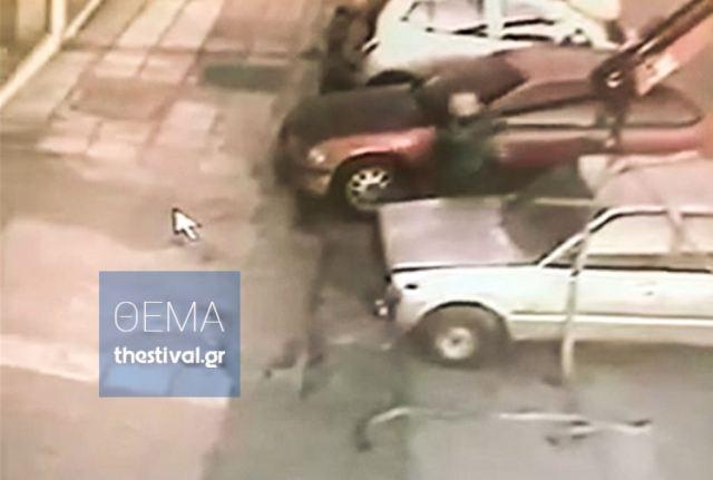 Δείτε στο βίντεο ντοκουμέντο πως έκλεβε αυτοκίνητα ο δημοτικός υπάλληλος του δήμου Θεσσαλονίκης