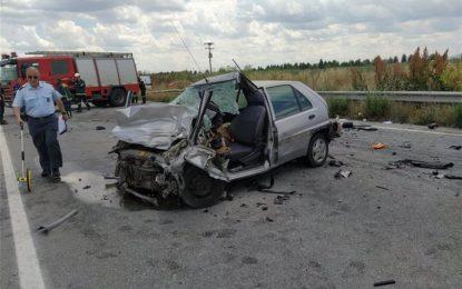 Ημαθία: 32χρονος σκοτώθηκε σε τροχαίο σε επαρχιακή οδό