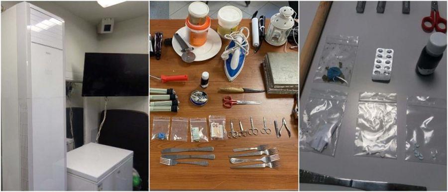 Φυλακές Νιγρίτας: Μπάρμπεκιου, ψυγεία και κλιματιστικά στα κελιά «σουίτες» (Εικόνες)