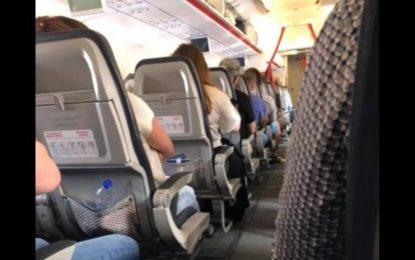 «Φουλ» η πτήση Αθήνα- Θεσσαλονίκη της Aegean- Με μάσκες και αντισηπτικά οι επιβάτες