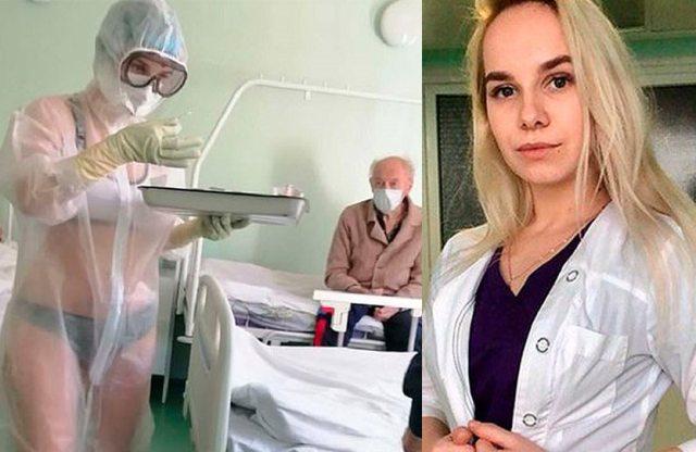 Αυτή είναι η viral Ρωσίδα νοσηλεύτρια – Της πρότειναν να γίνει μοντέλο για εσώρουχα(Εικόνες)