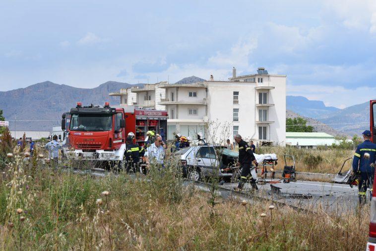 Σκληρές εικόνες-Το θανατηφόρο τροχαίο στον Πλατύκαμπο Λάρισας και ο 44χρονος νεκρός