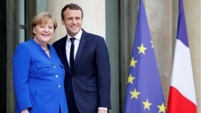 Συνάντηση Μέρκελ – Μακρόν: Στο επίκεντρο η αντιμετώπιση των οικονομικών επιπτώσεων του κορωνοϊού