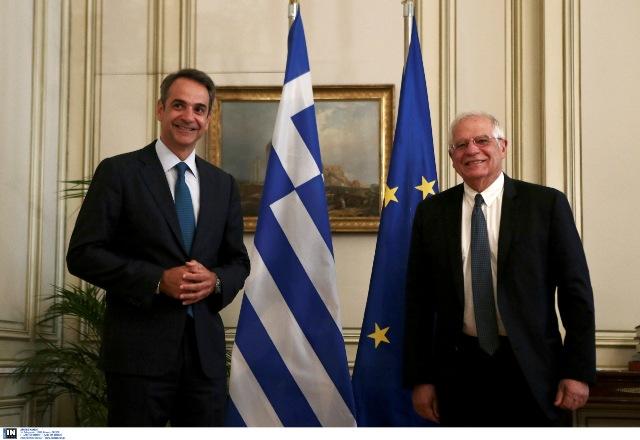 Μητσοτάκης – Μπορέλ σε Τουρκία: Ευρωπαϊκή αποφασιστικότητα για την υπεράσπιση των κυριαρχικών δικαιωμάτων της Ελλάδας
