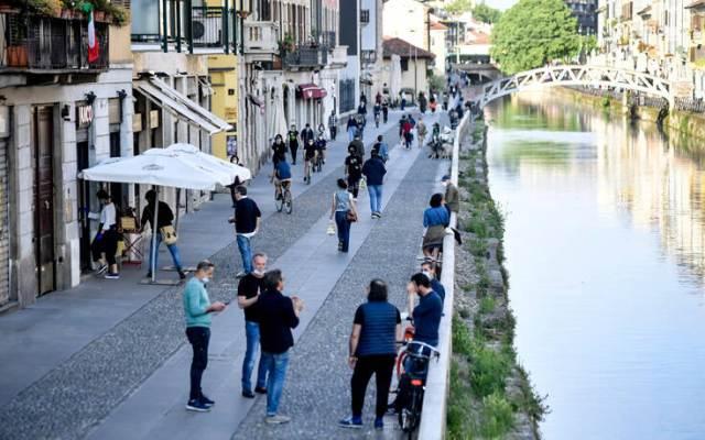 Χωρίς επιπτώσεις η χαλάρωση των μέτρων κατά του κορονοϊού στην Ιταλία