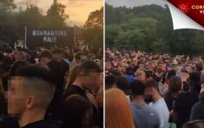 Απίστευτες εικόνες σε rave party «καραντίνας»: Βίασαν 18χρονη, νεκρός 20χρονος από υπερβολική δόση