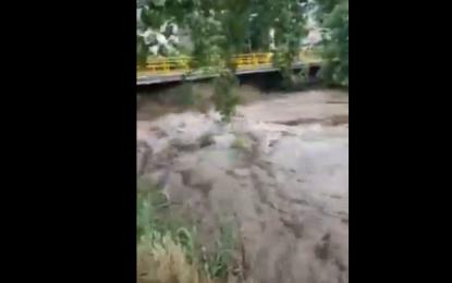 Πλημμύρισε η Κοιλάδα των Αγίων Αναργύρων στις Σέρρες(Βίντεο)