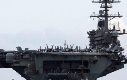 """Τύμπανα πολέμου στη Σινική Θάλασσα! Αεροπλανοφόρα των ΗΠΑ """"προκαλούν"""" τον κινεζικό στόλο"""