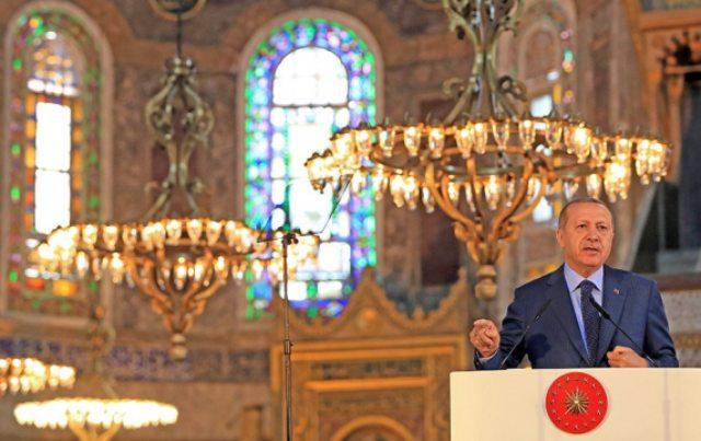 Αγιά Σοφιά: Η Δύση καταδικάζει την μετατροπή της σε τζαμί – Θλιβερή και διχαστική απόφαση