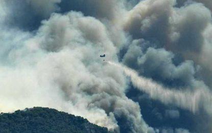 Κορινθία: Μαίνεται η φωτιά στις Κεχριές – Αναφορές για 10 σπίτια καμένα! Στις φλόγες πυροσβεστικό όχημα(Βίντεο)