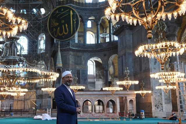 Αγιά Σοφιά: Όλα έτοιμα για την φιέστα Ερντογάν – Ανοικτή από τις 10 το πρωί για τους μουσουλμάνους(Εικόνες)