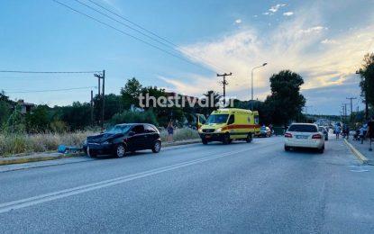 ΠΡΙΝ ΛΙΓΟ: Σοβαρό τροχαίο με δυο τραυματίες στη Χανιώτη Χαλκιδικής (Εικόνες)