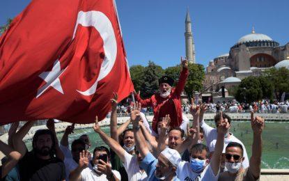 Μετά το σόου στην Αγία Σοφία η Τουρκία προκαλεί ξανά: Να δουν τι έπαθαν στο Αιγαίο όσοι δεν έδωσαν σημασία στη σημαία μας
