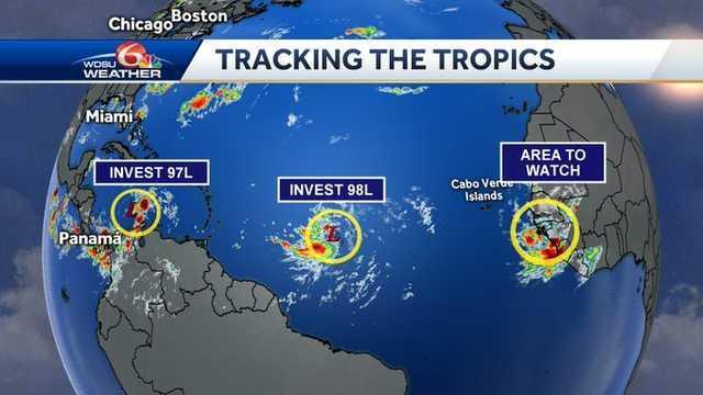 3 παράλληλα συστήματα ενισχύονται στον Ατλαντικό