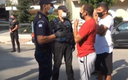 Σέρρες: Ένταση σε λαϊκή μεταξύ μικροπωλητών και αστυνομικών – Πρόστιμα σε 4 που δεν φορούσαν μάσκες (Bίντεο)