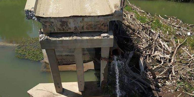 Σέρρες: Κατέρρευσε ξαφνικά γέφυρα του 1940 -Κόπηκε στα δύο (Eικόνες)