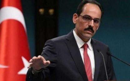 Ο Καλίν «αποκαλύπτει»: Η Τουρκία «θύμωσε» με τη συμφωνία Ελλάδας – Αιγύπτου