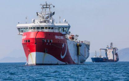 Προκαλεί η Άγκυρα με νέα τουρκική NAVTEX για έρευνες του Oruc Reis – Συνεδριάζει εκτάκτως το ΚΥΣΕΑ