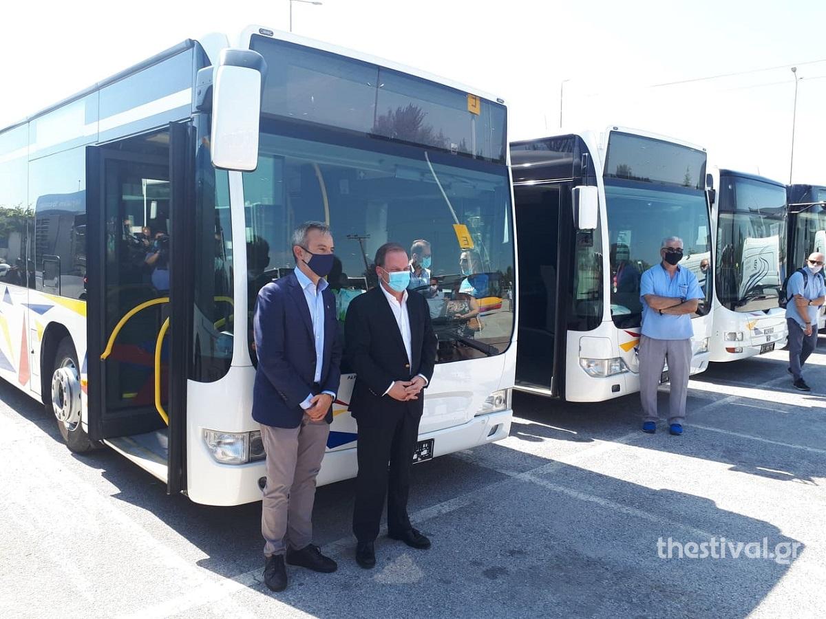 Με 18 λεωφορεία εξοπλίζεται ο στόλος του ΟΑΣΘ – Καραμανλής: 550 λεωφορεία μέχρι το τέλος του έτους
