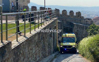 Θεσσαλονίκη: 23χρονος έπεσε από τον Πύργο Τριγωνίου (Εικόνες)