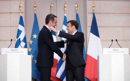 Ελλάς-Γαλλία… συμμαχία και στα εξοπλιστικά – Νέο κάλεσμα στην Τουρκία να εγκαταλείψει τις προκλήσεις