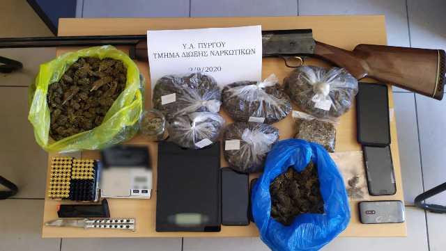Πύργος: Νέο χτύπημα σε σπείρα διακίνησης ναρκωτικών! Στο φως τα ένοχα μυστικά τους