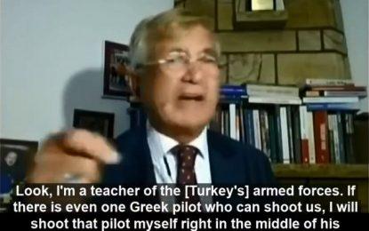 Σύμβουλος Ερντογάν: Θα πλήξουμε το Charles De Gaulle και θα πυροβολήσω Έλληνα πιλότο στο μέτωπο!